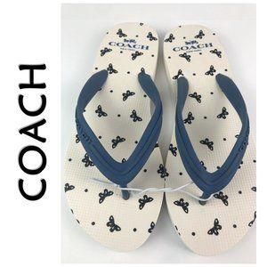 COACH Cleo Flip-Flop Thong Sandals Size 6 NWT